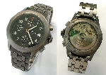 BWC Automatic-Chronograph,Edelstahl - 953-1050/MB