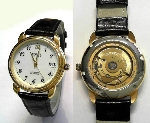 ROICE automatic Herrenuhr goldplatt. - 655-01