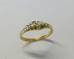 Damen-Ring Gold 333/-GW  +Diamant - 71213-1060
