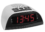 Atlanta LED- Radio Wecker hellgrau - 90119