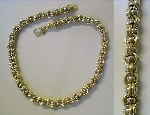 45cm Collier Gold 750/-G/W poliert - CO-750-75,0-45